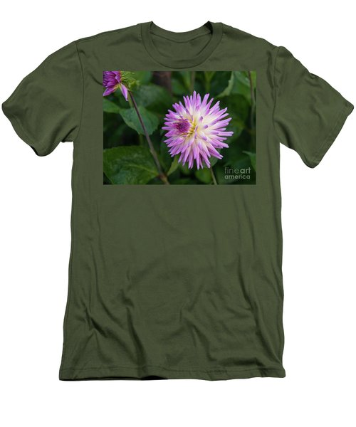 Glenbank Twinkle Dahlia 3 Men's T-Shirt (Athletic Fit)
