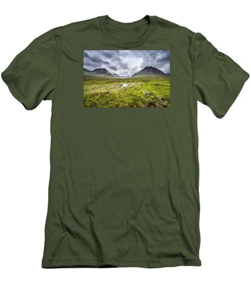 Men's T-Shirt (Slim Fit) featuring the photograph Glencoe by Jeremy Lavender Photography