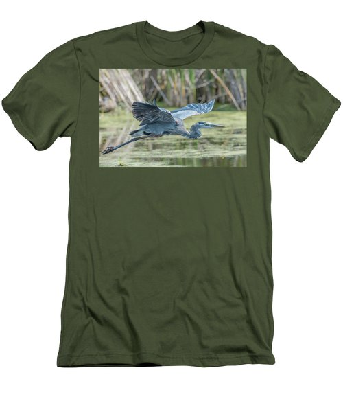 Gliding Over The Wetlands... Men's T-Shirt (Athletic Fit)