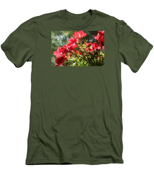 Men's T-Shirt (Slim Fit) featuring the photograph Glory To Thee O Lord by Jake Hartz