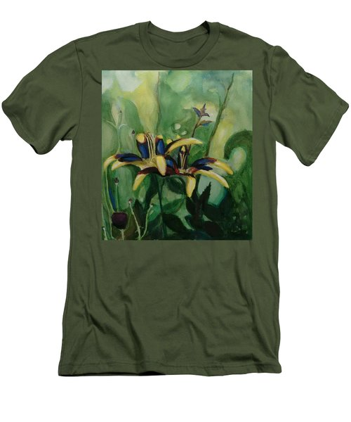 Glowing Flora Men's T-Shirt (Athletic Fit)