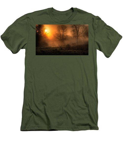 Glowing Sunrise Men's T-Shirt (Athletic Fit)