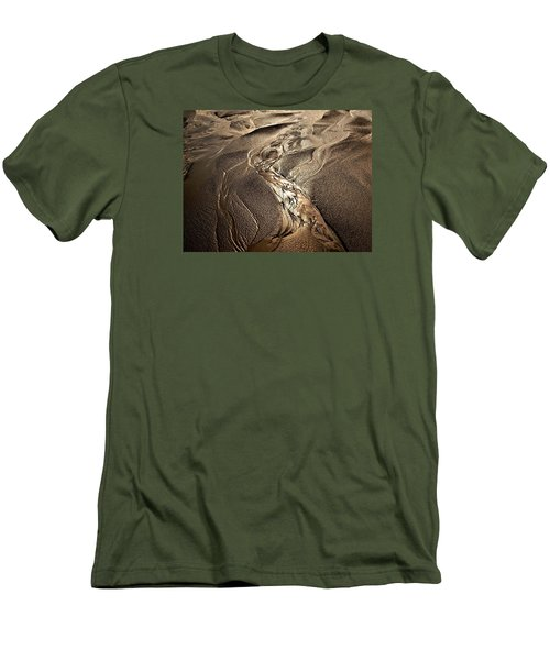 Men's T-Shirt (Slim Fit) featuring the photograph Go With The Flow by Laura Ragland