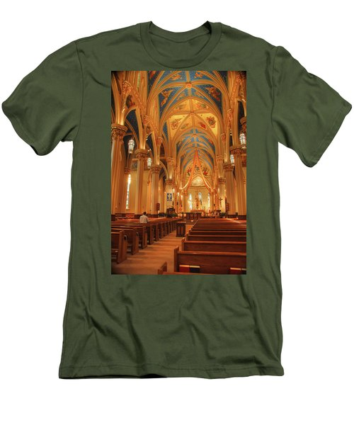 God Do You Hear Me Men's T-Shirt (Athletic Fit)