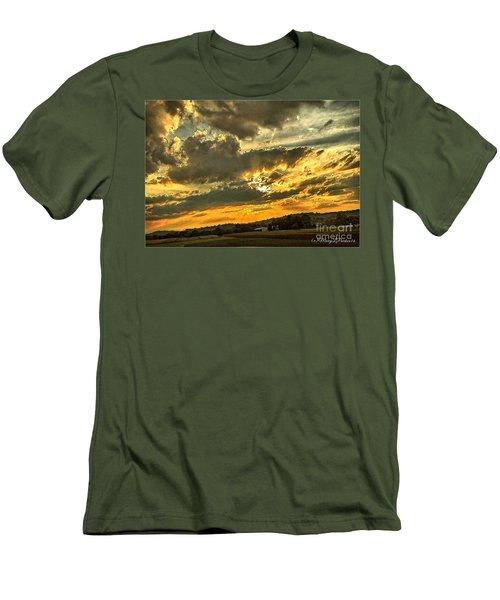 God Hand Men's T-Shirt (Athletic Fit)