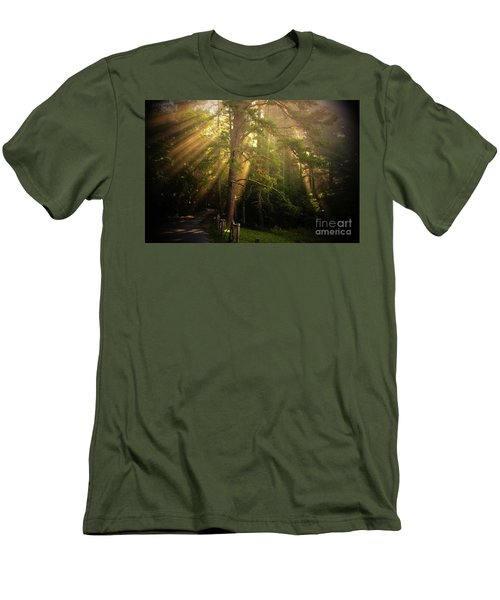 God's Light 2 Men's T-Shirt (Athletic Fit)