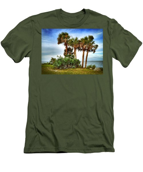 God's Nest Men's T-Shirt (Slim Fit) by Carlos Avila
