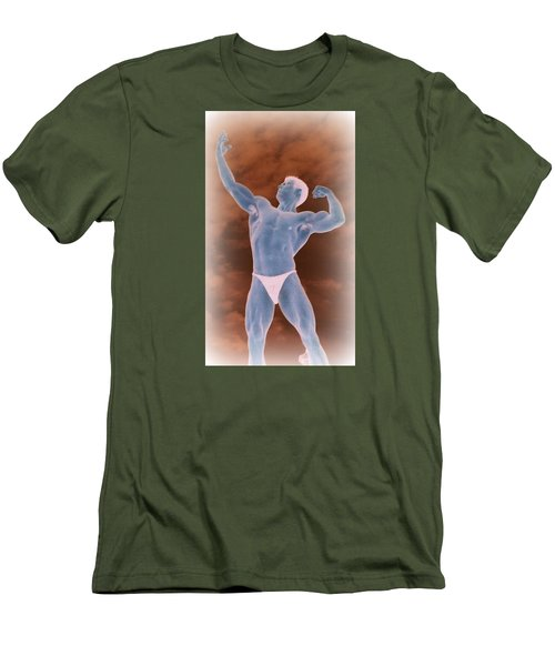Men's T-Shirt (Slim Fit) featuring the photograph Gods Of Olympus by Jake Hartz