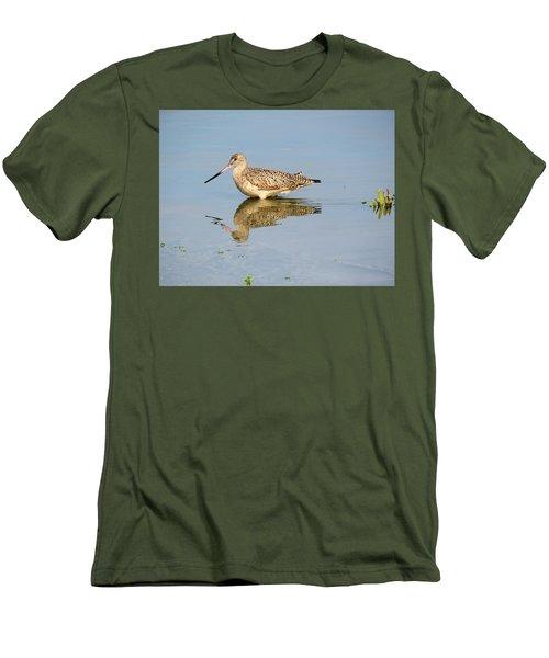Godwit Men's T-Shirt (Slim Fit) by Phyllis Beiser