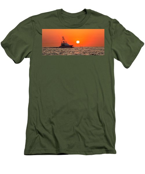 Going Fishing Men's T-Shirt (Athletic Fit)