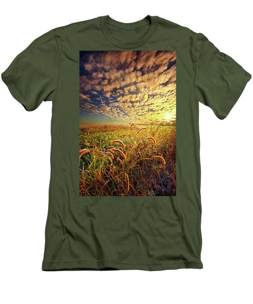 Going To Sleep Men's T-Shirt (Slim Fit) by Phil Koch