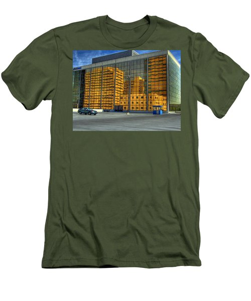 Gold In The Bank Men's T-Shirt (Slim Fit) by Farol Tomson