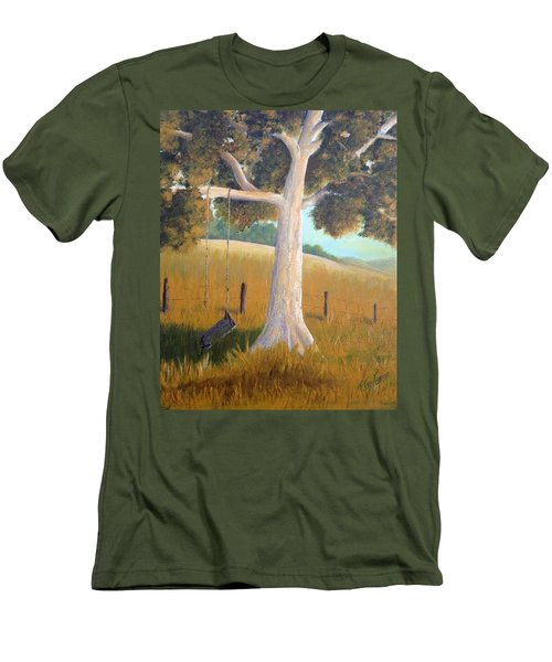 The Shadows Of Childhood Men's T-Shirt (Slim Fit) by T Fry-Green