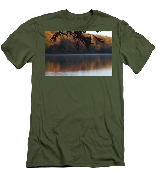 Men's T-Shirt (Athletic Fit) featuring the photograph Golden Autumn by Vadim Levin