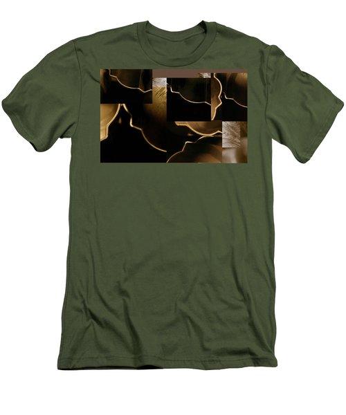 Golden Curves - Men's T-Shirt (Athletic Fit)