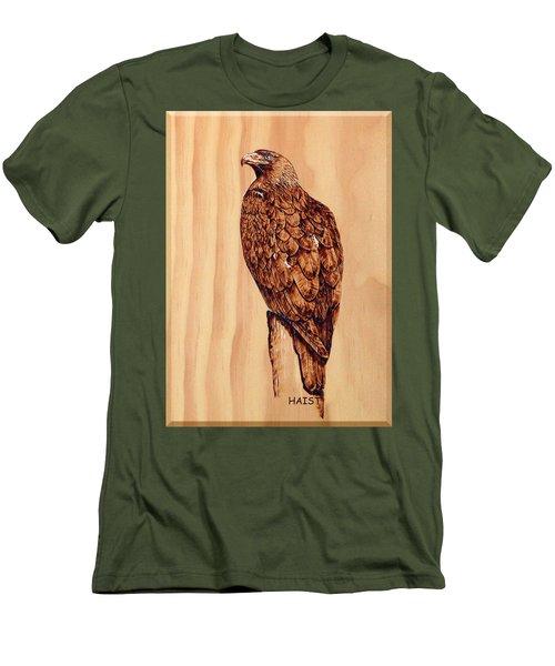 Golden Eagle Men's T-Shirt (Slim Fit) by Ron Haist