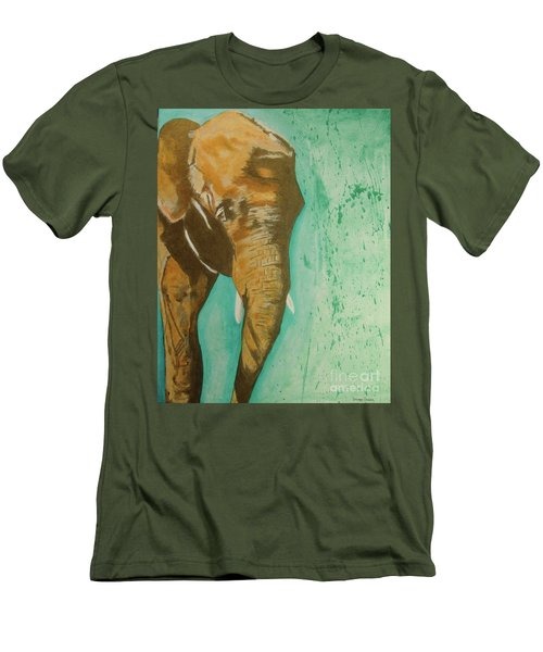 Golden Giant Men's T-Shirt (Slim Fit) by Stuart Engel