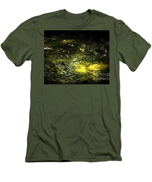 Men's T-Shirt (Slim Fit) featuring the photograph Golden Glow by Tatsuya Atarashi