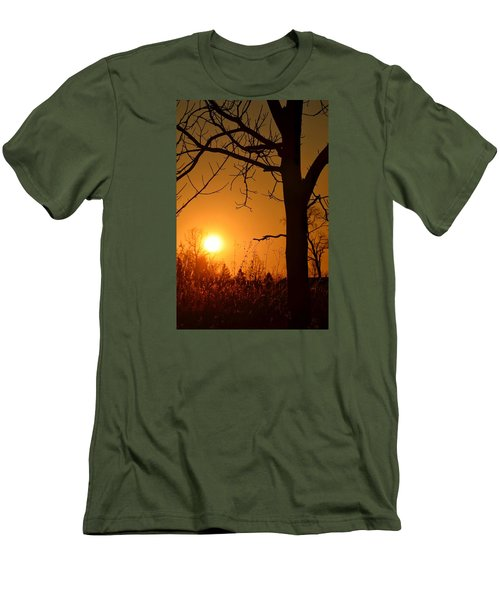 Golden Hour Daydreams Men's T-Shirt (Slim Fit) by Nikki McInnes
