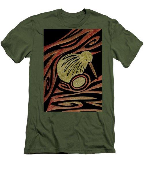 Golden Kiwi Men's T-Shirt (Athletic Fit)