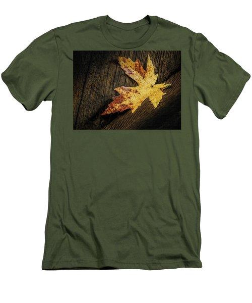 Golden Leaf Men's T-Shirt (Athletic Fit)