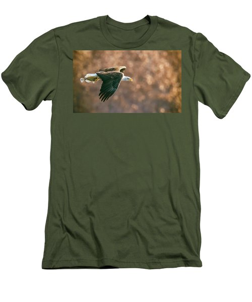Golden Light Men's T-Shirt (Slim Fit) by Kelly Marquardt