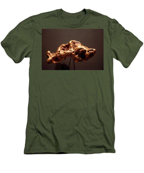 Golden Nugget Men's T-Shirt (Slim Fit) by LeeAnn McLaneGoetz McLaneGoetzStudioLLCcom