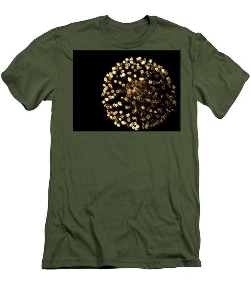 Men's T-Shirt (Slim Fit) featuring the photograph Golden by Tara Lynn