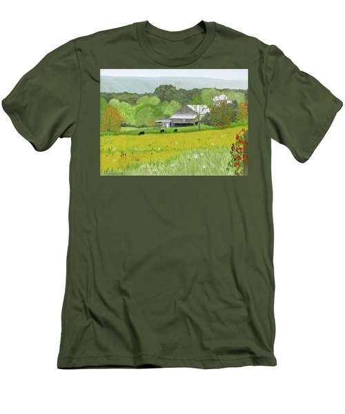 Goldenrod Abounds Men's T-Shirt (Athletic Fit)