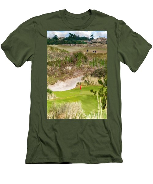 Golf Challenge  Men's T-Shirt (Athletic Fit)