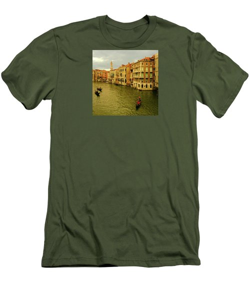 Men's T-Shirt (Athletic Fit) featuring the photograph Gondola Life by Anne Kotan
