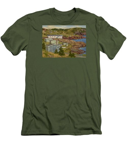Good Dry Day Men's T-Shirt (Slim Fit) by Jane Thorpe
