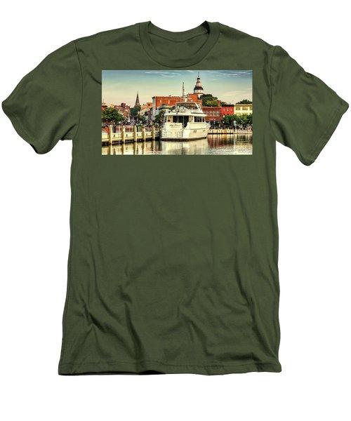 Good Morning Annapolis Men's T-Shirt (Athletic Fit)