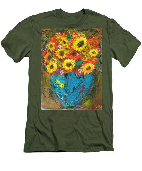 Good Morning Sunshine Men's T-Shirt (Slim Fit) by Maria Watt