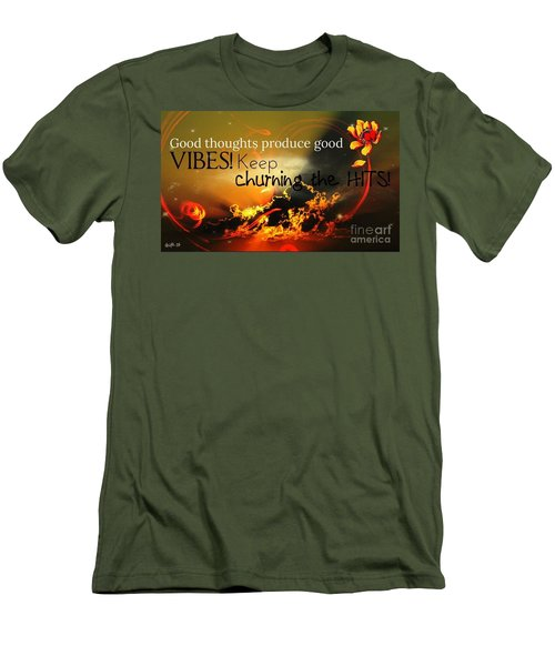 Good Thoughts Men's T-Shirt (Athletic Fit)