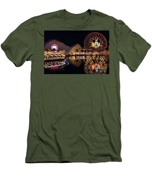 Goodbye, Paradise Pier Men's T-Shirt (Athletic Fit)