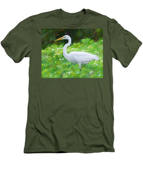 Grace In Nature Men's T-Shirt (Slim Fit) by Judy Kay