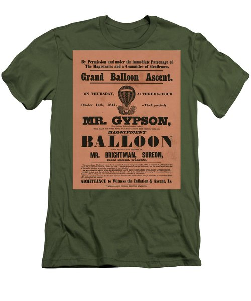 Grand Balloon Ascention Men's T-Shirt (Athletic Fit)