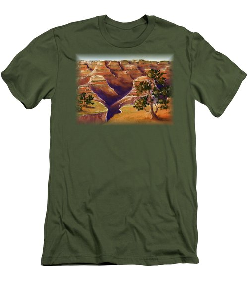 Grand Canyon Men's T-Shirt (Slim Fit) by Anastasiya Malakhova