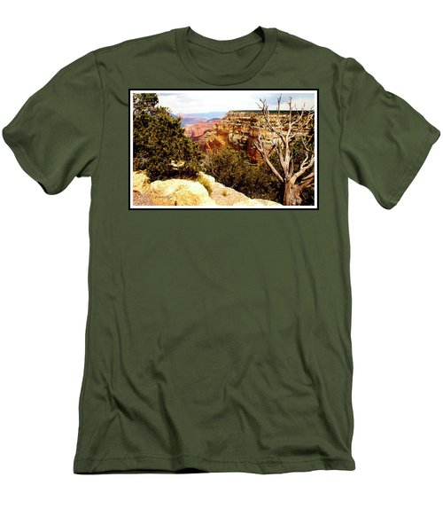 Grand Canyon National Park, Arizona Men's T-Shirt (Slim Fit) by A Gurmankin