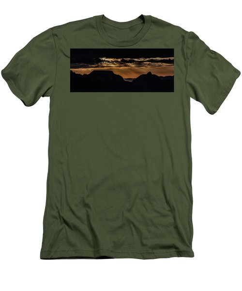 Grand Canyon Sunset Men's T-Shirt (Slim Fit) by Phil Abrams