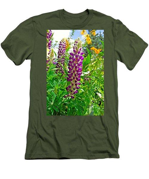 Grand Lake Purple Men's T-Shirt (Athletic Fit)