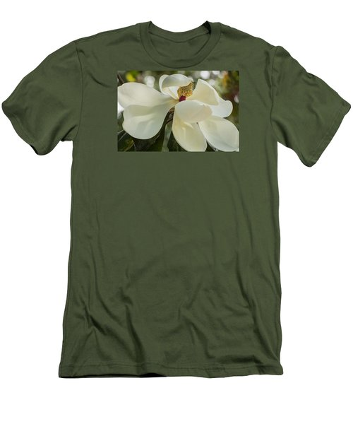 Men's T-Shirt (Athletic Fit) featuring the photograph Grand Magnolia  by Julie Andel