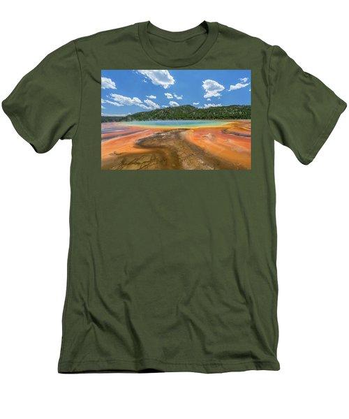 Grand Prismatic Men's T-Shirt (Slim Fit) by Alpha Wanderlust