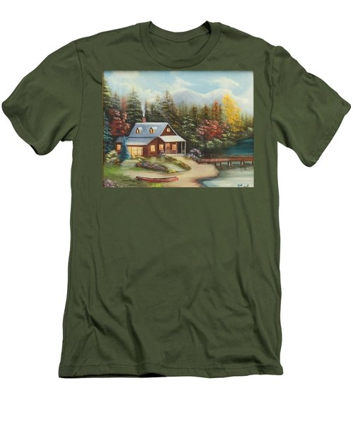 Grandpa's Cabin Men's T-Shirt (Athletic Fit)