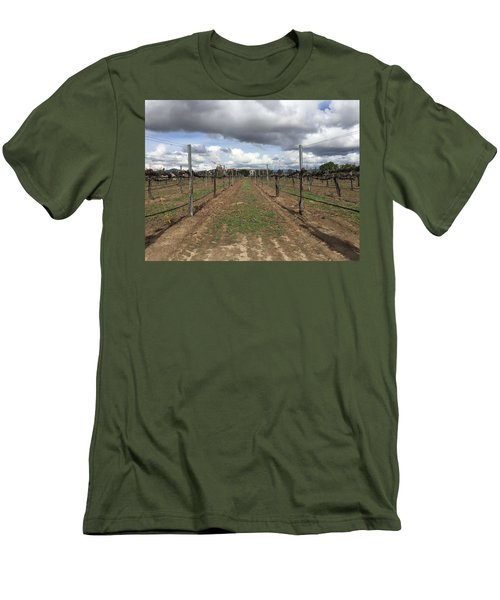 Grapevine Men's T-Shirt (Slim Fit) by Russell Keating