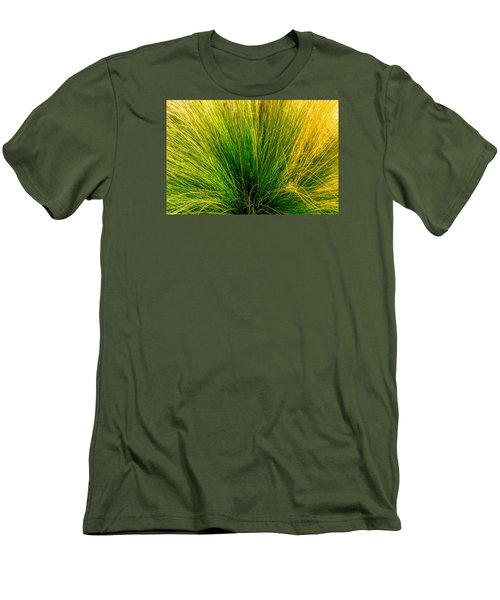 Grass Men's T-Shirt (Slim Fit) by Derek Dean