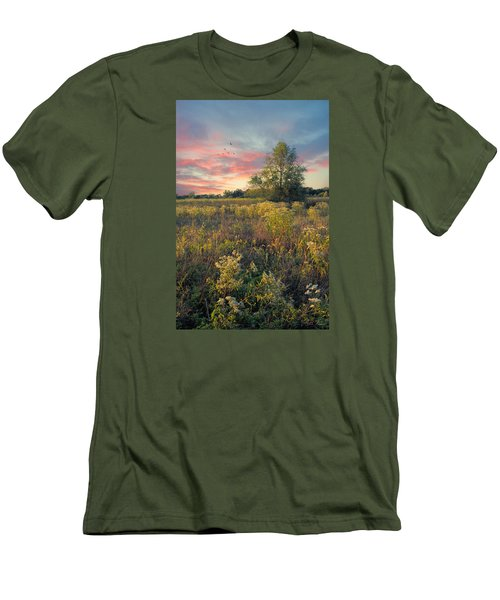 Men's T-Shirt (Slim Fit) featuring the photograph Grateful For The Day by John Rivera
