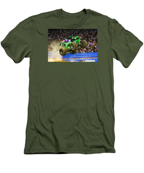 Grave Digger 7 Men's T-Shirt (Slim Fit) by Lanjee Chee