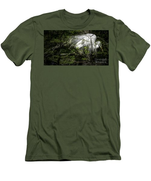 Great Egret #2 Men's T-Shirt (Athletic Fit)